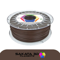 Chocolate Brown - 1.75mm Sakata PLA 850 Filament - 1 kg