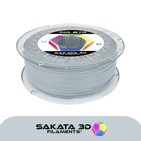 Grey - 1.75mm Sakata HR-PLA 3D870 - 1 kg