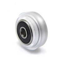 Polycarbonate (Transparent) V-Slot Wheel With 625ZZ Bearing 5x11x24mm
