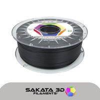 Black - 1.75mm Sakata PETG Filament - 1 kg