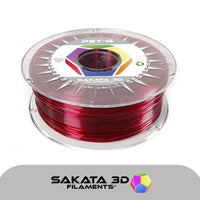 Ruby - 1.75mm Sakata PETG Filament - 1 kg