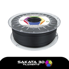 Black - 1.75mm Sakata PLA 850 Filament - 1 kg