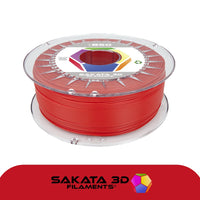 Red - 1.75mm Sakata PLA 850 Filament - 1 kg