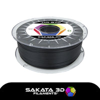 Black - 1.75mm Sakata HR-PLA 3D870 - 1 kg
