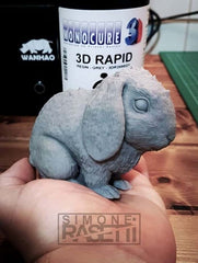 Grey - Monocure 3D Rapid Resin - 0.5L (0.6KG)