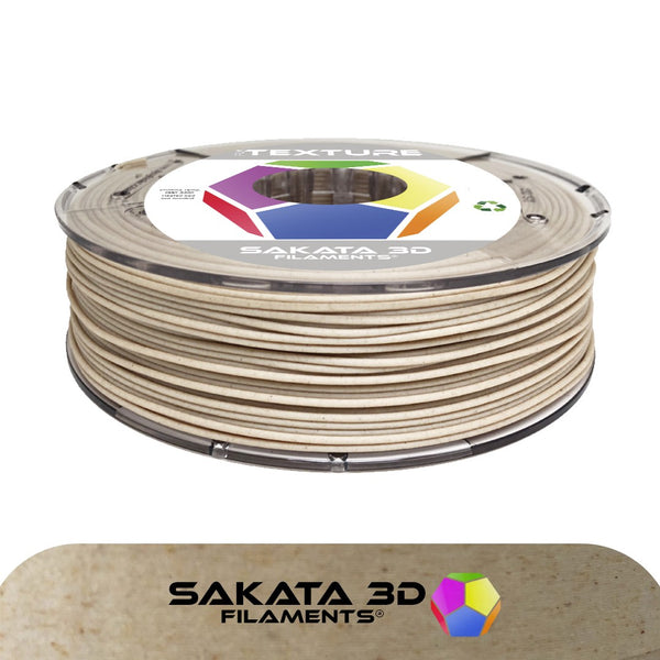 Textured Maple Wood - 1.75mm Sakata PLA 850 Filament - 450 g