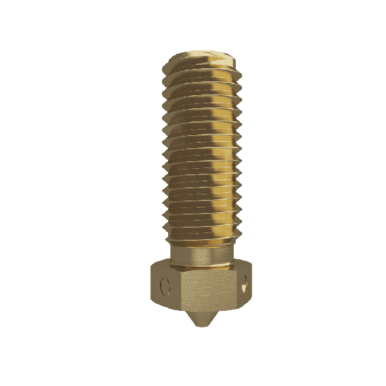 Official E3D Brass Volcano Nozzle 1.75mm-1.2mm