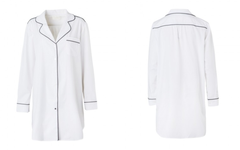 Piu Boyfriend Shirt - White