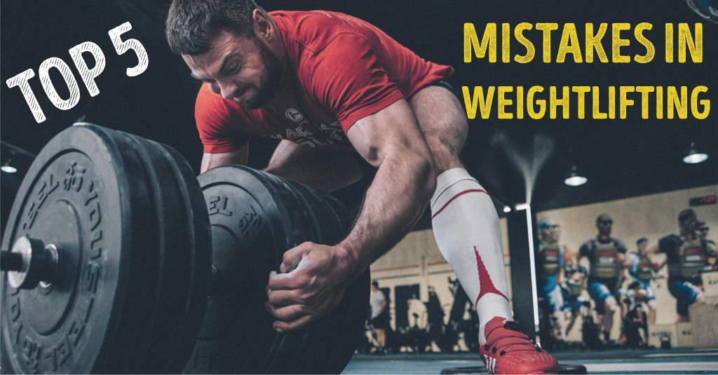 TOP 5 MISTAKES IN OLYMPIC LIFTING