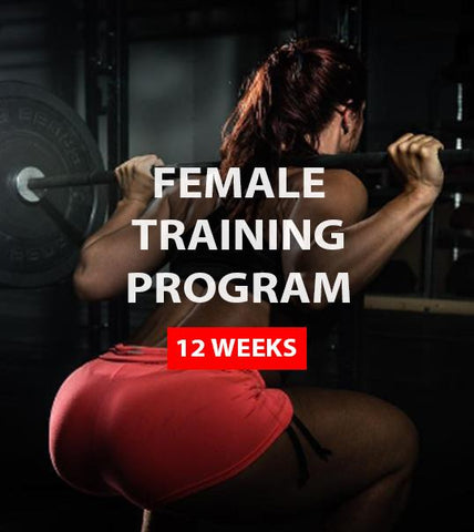 Female Training Program (12 weeks)