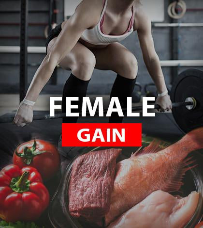 NUTRITION - FEMALE weight gain