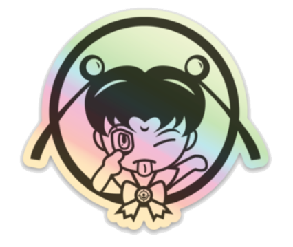 Sailor Moon Akanbe_Sticker