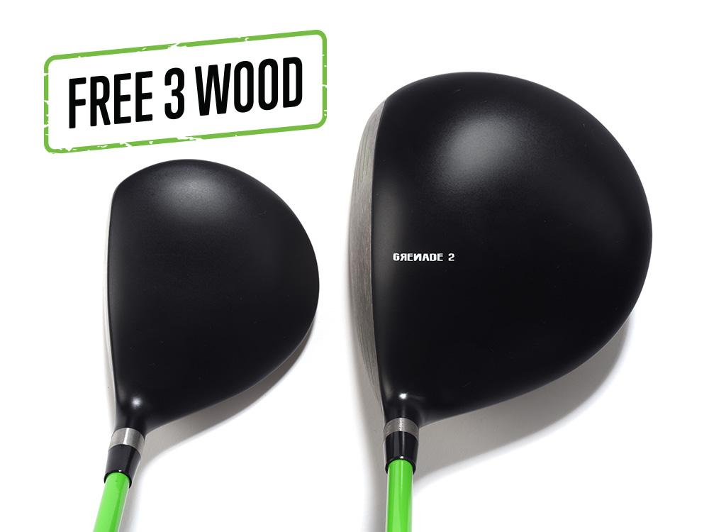 Pre-Owned Grenade 2 Driver and 3 Wood