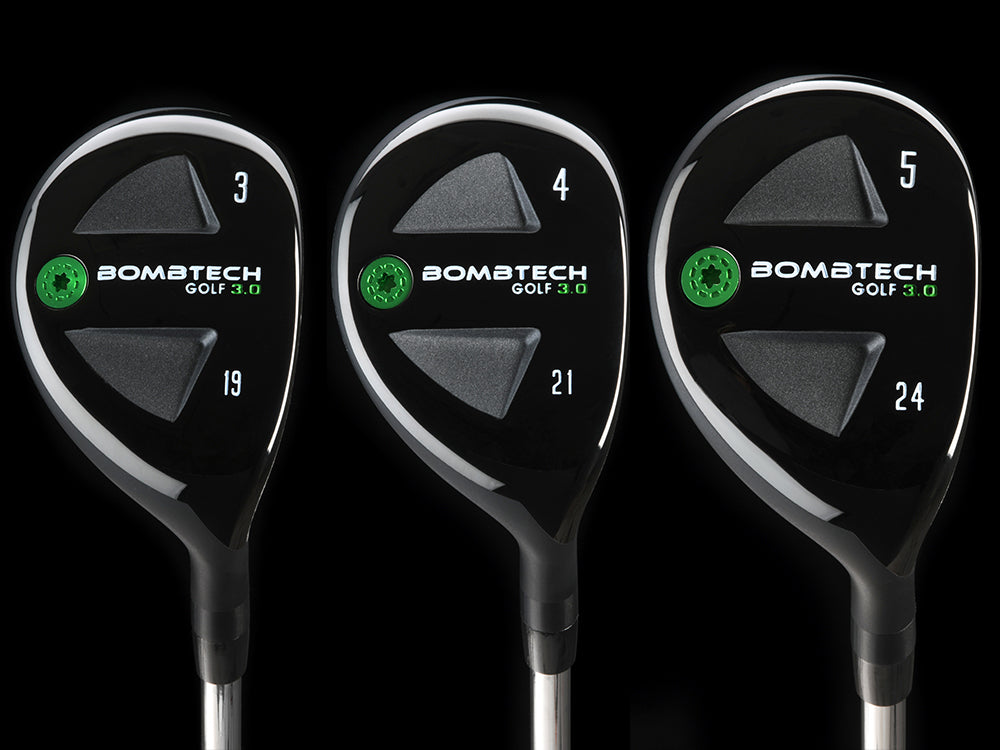 New! BombTech Golf 3.0 Hybrid Set