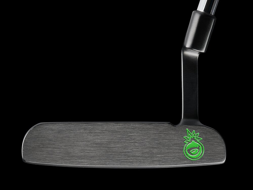 New! BombTech Golf 3.0 Black Blade Putter!