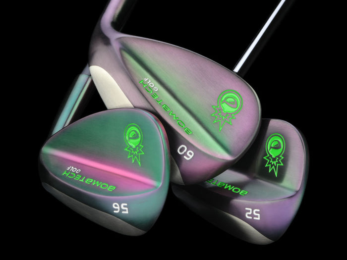 Limited Edition Midnight Shadow BombTech 52, 56 and 60 Wedge Set