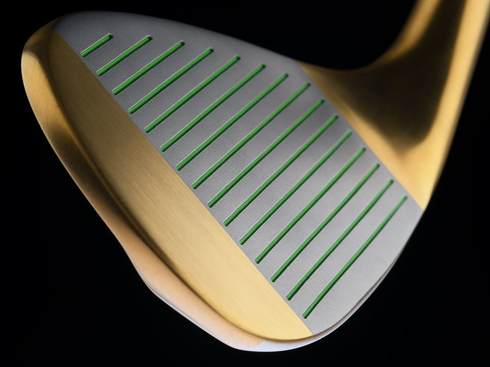 Limited Edition Gold BombTech 52, 56 and 60 Wedge Set