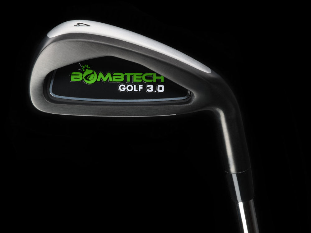 BombTech 3.0 black golf irons set