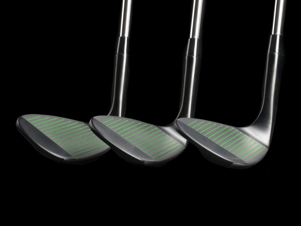 Pre-Owned Black BombTech 52, 56 and 60 Wedge Set