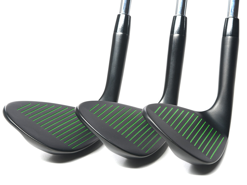 Pre-Owned Black Grenade 52 56 and 60 Wedge Set