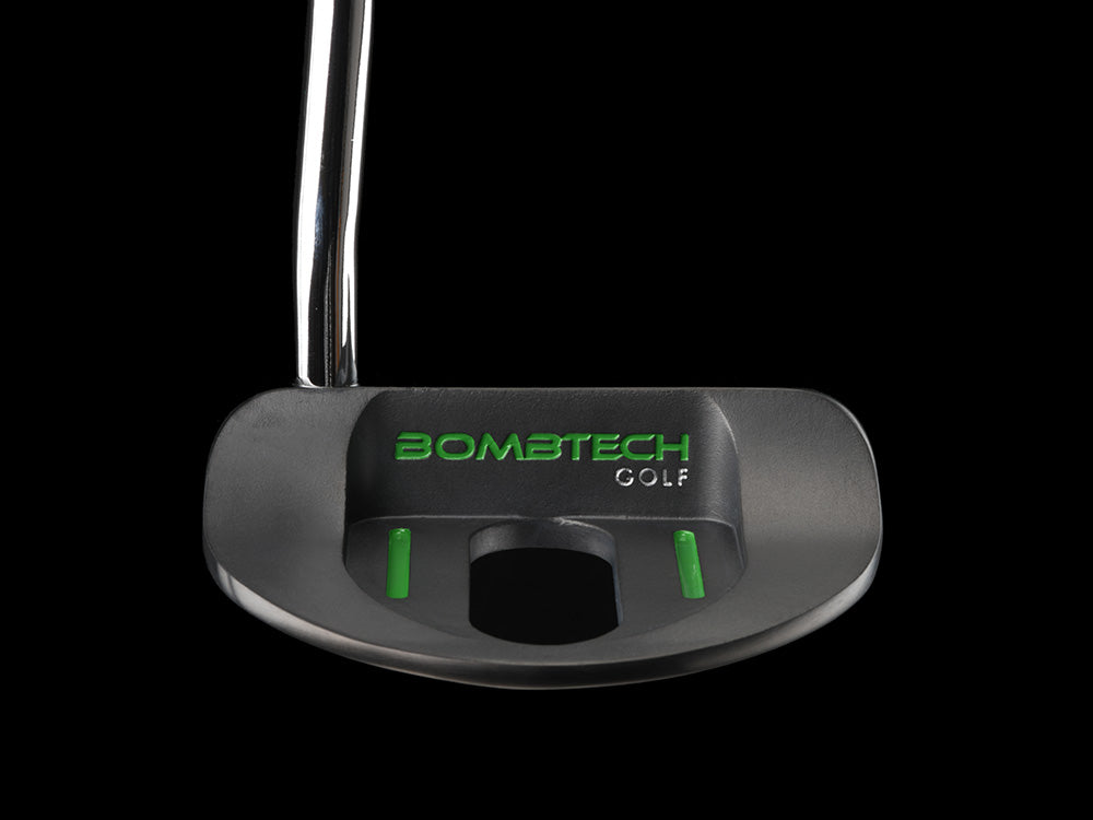 Limited Edition Black BombTech Mallet Putter