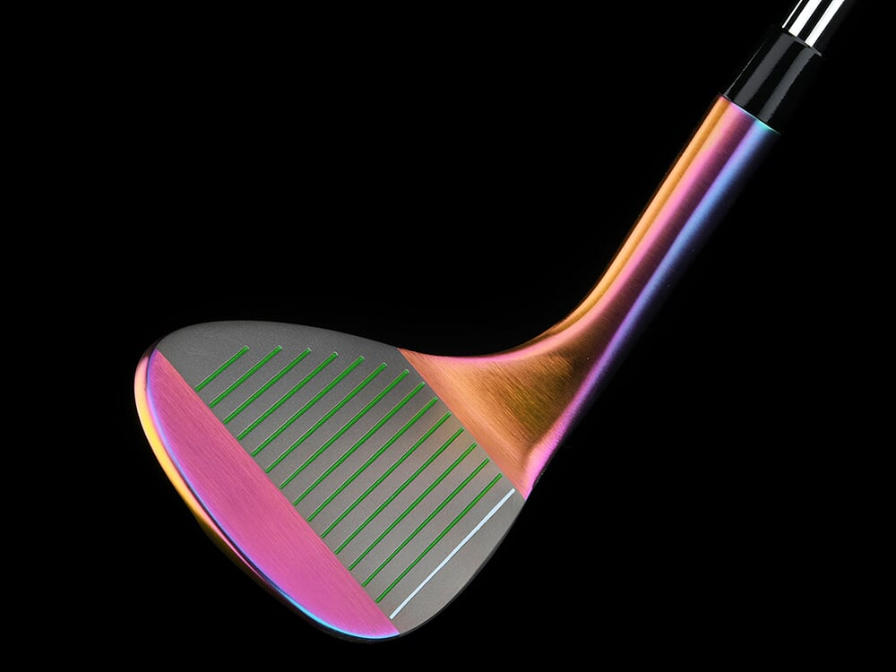 New! Limited Edition Volcano Torched BombTech 72 Degree Wedge