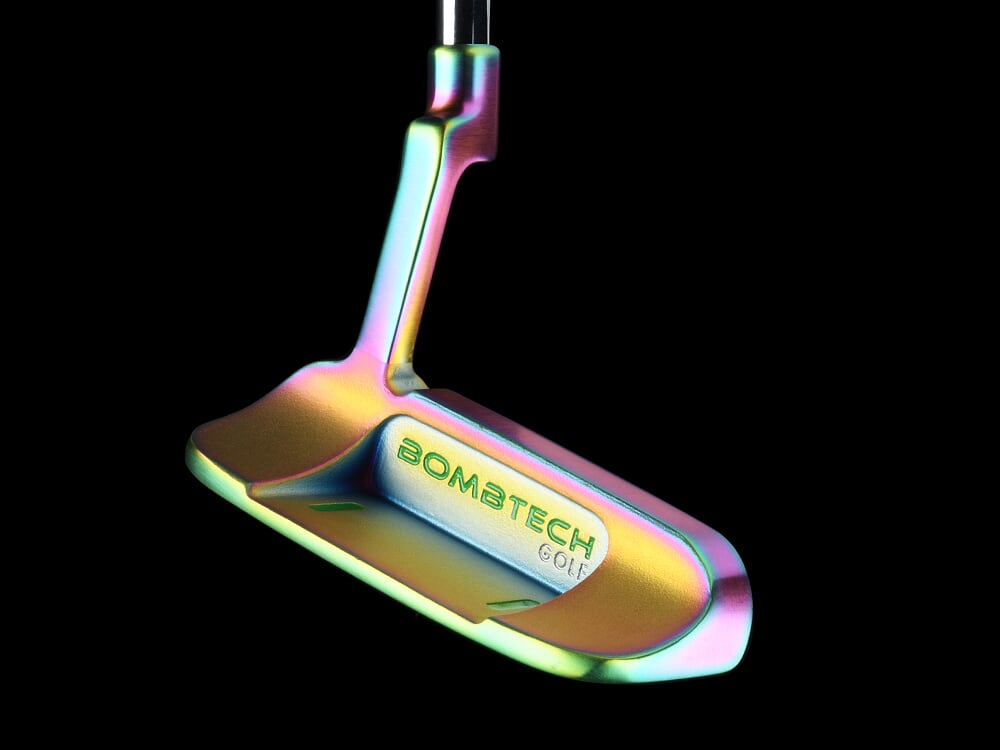 New! BombTech Golf 3.0 Volcano Torched Blade Putter!