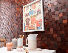 Timberwall New Zealand introduces the new Mosaic feature wall Collection