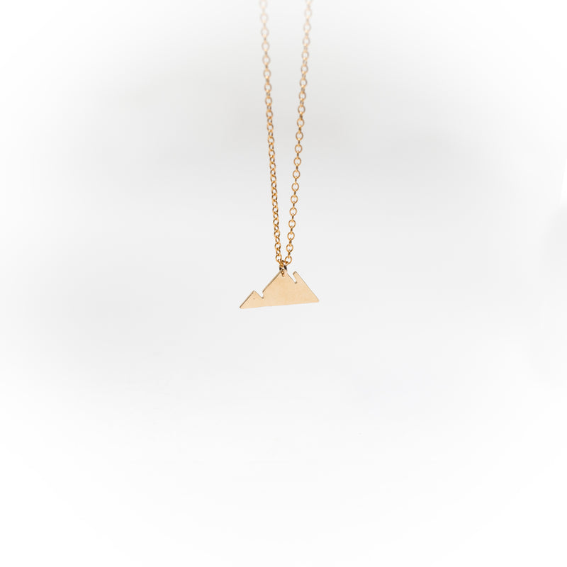 Solid Mountain Necklace