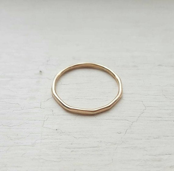 Dainty Stacking Ring - 14k Gold Fill