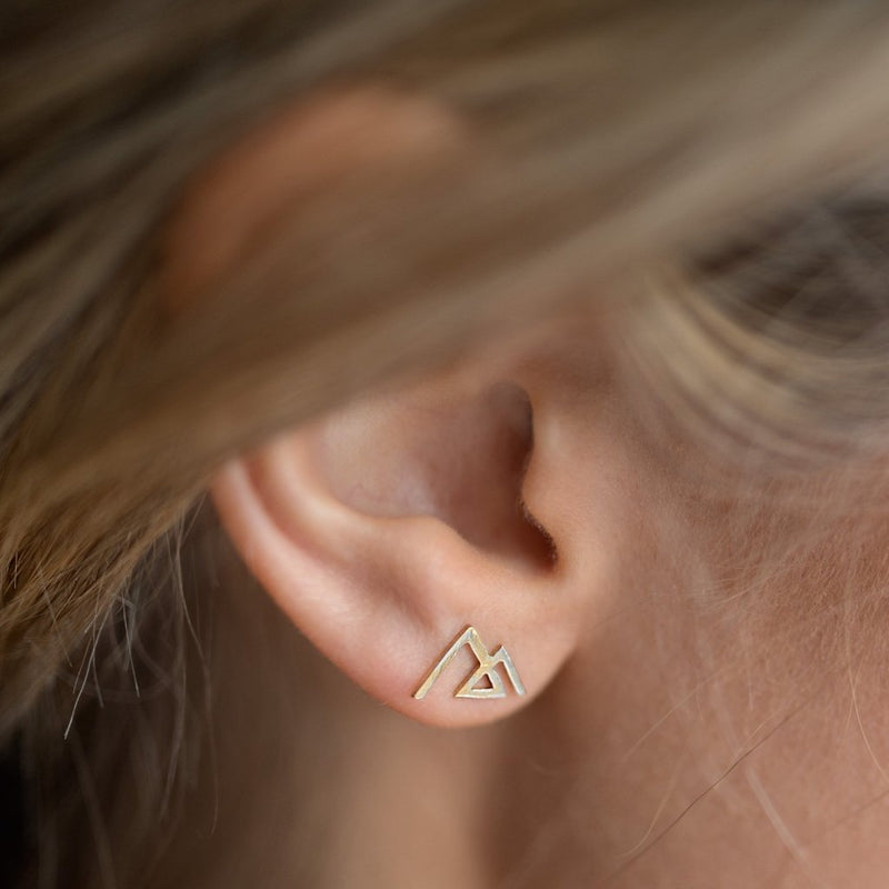 Mountain Angle Earrings