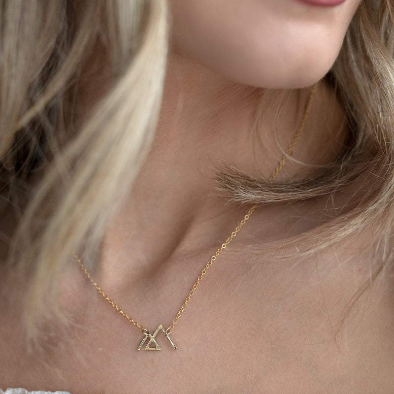 Mountain Angle Necklace