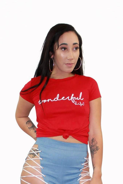 Wonderful Life Top - Good Looks Fashion