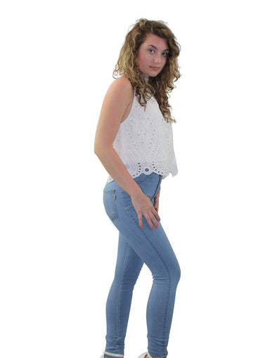 High Waist Jeans - Good Looks Fashion