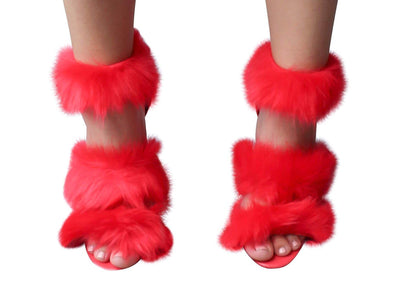 Furry Heels - Good Looks Fashion