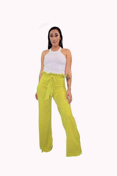 Tie Waist Pants - Good Looks Fashion