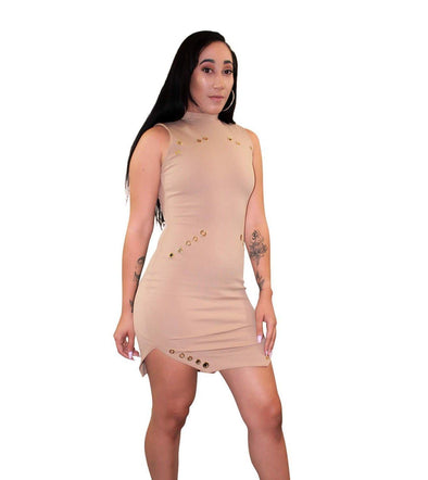 Gold Ring Dress - Good Looks Fashion