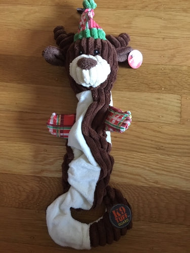 Musical Tug of War Reindeer Holiday Toy