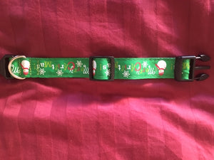 Holiday Collar, Green