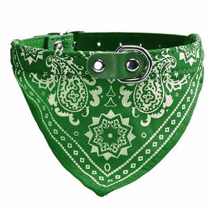 Adjustable Bandana Collar, great summer colors!