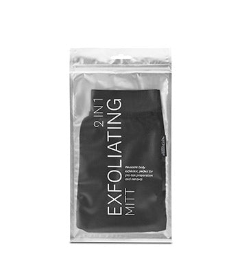 Exfoliating Mitt 2 in 1 Tanning Essentials