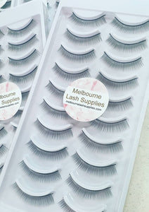 Training Eyelash strips