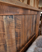 Amish Oak Queen Bed