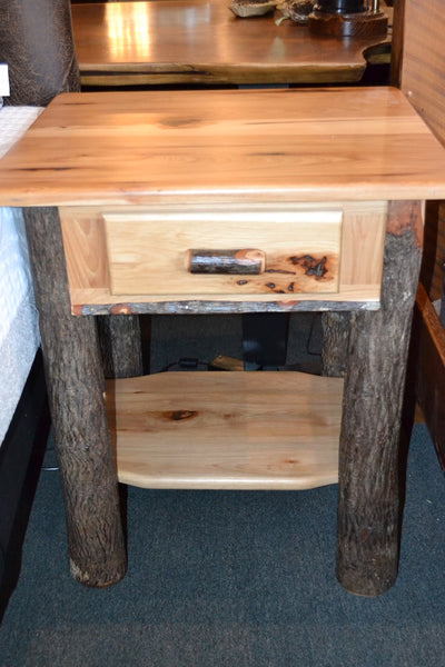 Amish Hickory Nightstand