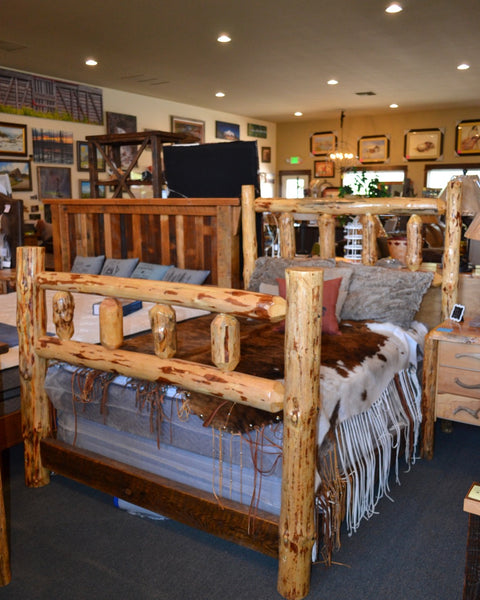 BC Full Log Bed