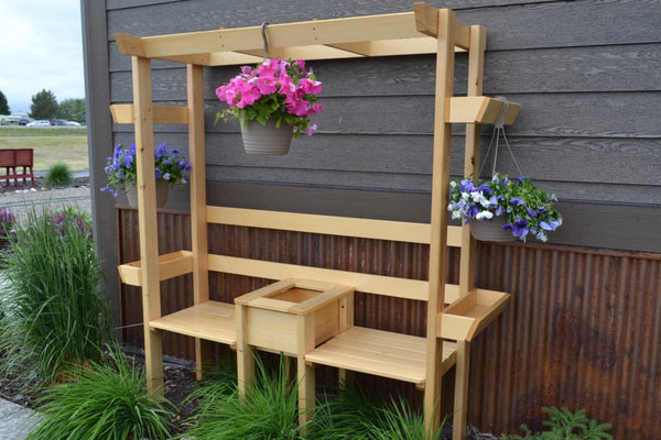 RD Outdoor Planter Bench
