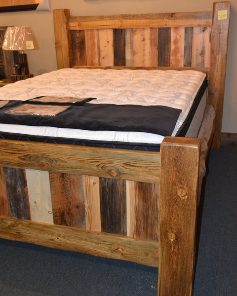 MRI Reclaimed Queen Bed