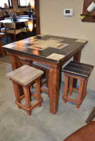 Hand Painted Pub Table Set