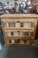 Rustic Low Boy Chest