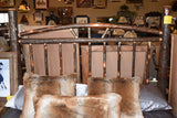 Amish Hickory Queen Bed